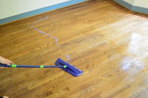 how to get hardwood floors to shine
